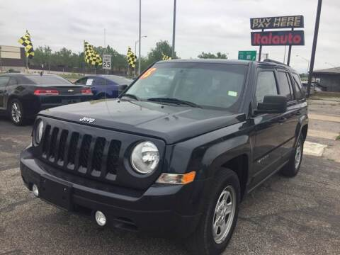 2015 Jeep Patriot for sale at Ital Auto in Oklahoma City OK