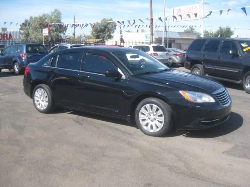 2014 Chrysler 200 for sale at Town and Country Motors - 1702 East Van Buren Street in Phoenix AZ