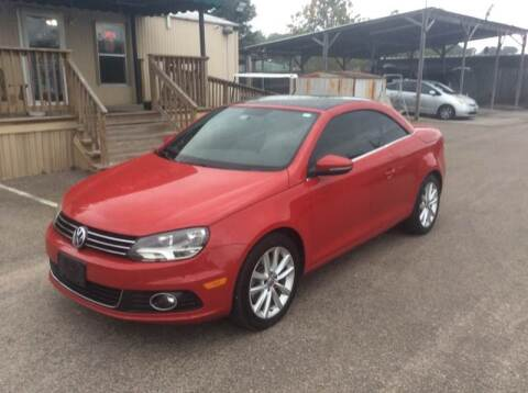 2012 Volkswagen Eos for sale at OASIS PARK & SELL in Spring TX