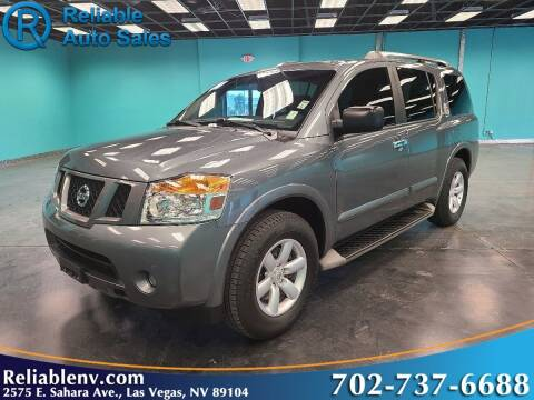 2014 Nissan Armada for sale at Reliable Auto Sales in Las Vegas NV