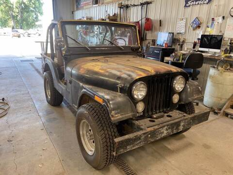 1975 Jeep CJ-5 for sale at B & B Auto Sales in Brookings SD