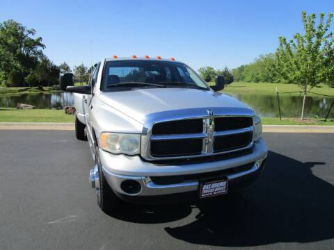 2004 Dodge Ram Pickup 3500 for sale at Oklahoma Trucks Direct in Norman OK