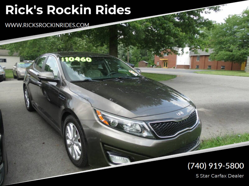 2014 Kia Optima for sale at Rick's Rockin Rides in Reynoldsburg OH