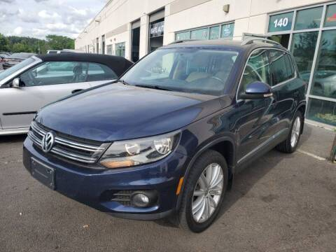 2013 Volkswagen Tiguan for sale at M & M Auto Brokers in Chantilly VA