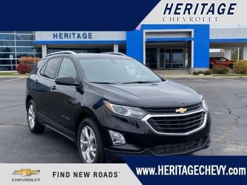 2018 Chevrolet Equinox for sale at HERITAGE CHEVROLET INC in Creek MI
