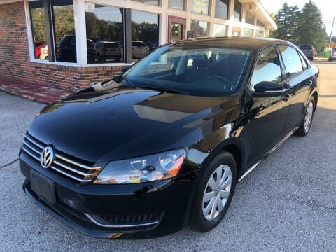 2013 Volkswagen Passat for sale at Auto Target in O'Fallon MO