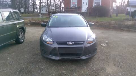 2012 Ford Focus for sale at Seneca Motors, Inc. (Seneca PA) - MEADVILLE, PA LOCATION in Conneaut Lake PA