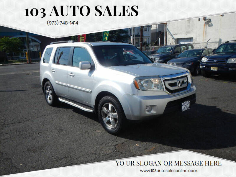 2009 Honda Pilot for sale at 103 Auto Sales in Bloomfield NJ