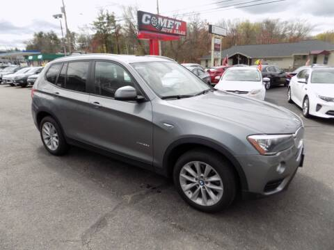 2015 BMW X3 for sale at Comet Auto Sales in Manchester NH