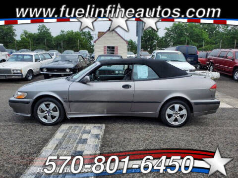 2002 Saab 9-3 for sale at FUELIN FINE AUTO SALES INC in Saylorsburg PA