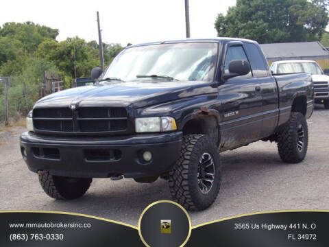 2001 Dodge Ram Pickup 1500 for sale at M & M AUTO BROKERS INC in Okeechobee FL