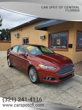 2014 Ford Fusion Hybrid for sale at Car Spot Of Central Florida in Melbourne FL