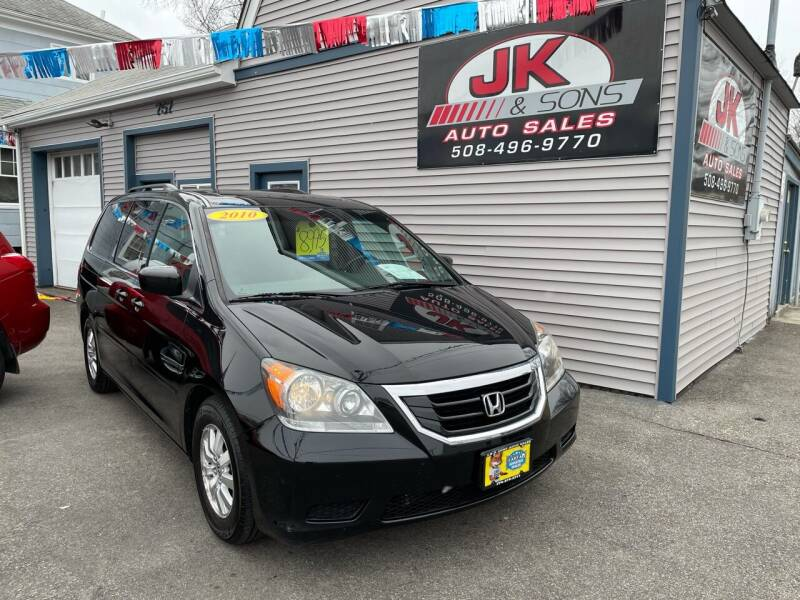 2010 Honda Odyssey for sale at JK & Sons Auto Sales in Westport MA