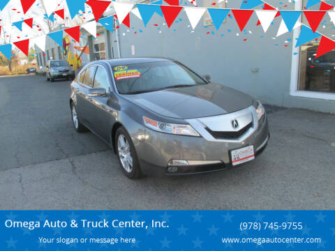 2009 Acura TL for sale at Omega Auto & Truck Center, Inc. in Salem MA