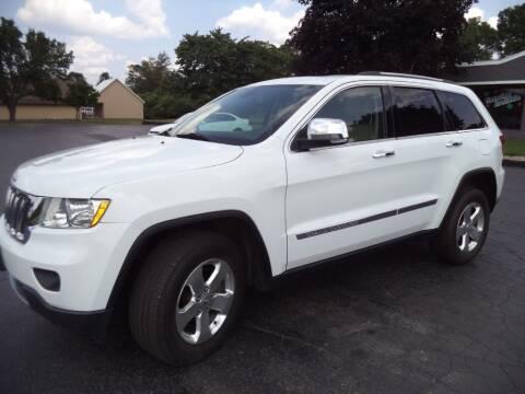 2013 Jeep Grand Cherokee for sale at Hawkins Motors Sales - Lot 1 in Hillside MI