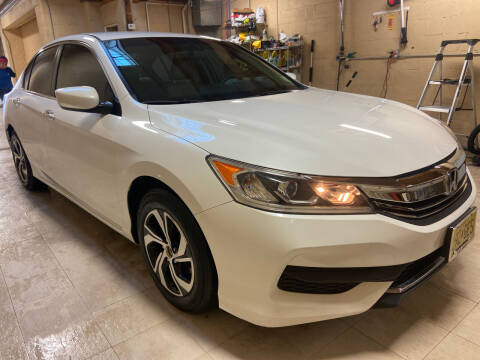 2016 Honda Accord for sale at TOP SHELF AUTOMOTIVE in Newark NJ