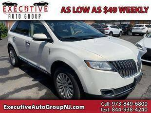 2012 Lincoln MKX for sale at Executive Auto Group in Irvington NJ