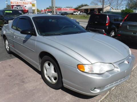 2002 Chevrolet Monte Carlo for sale at LEGACY MOTORS INC in New Port Richey FL