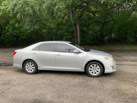 2012 Toyota Camry Hybrid for sale at Royal Auto Mart in Tampa FL