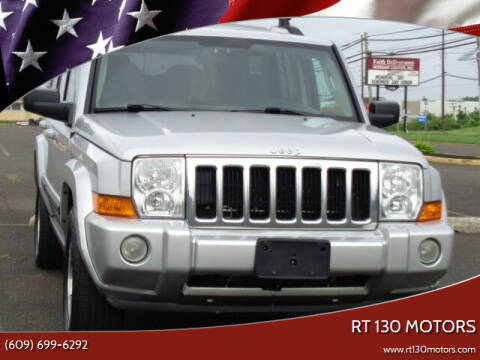 2009 Jeep Commander for sale at RT 130 Motors in Burlington NJ
