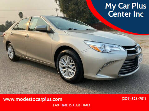 2016 Toyota Camry for sale at My Car Plus Center Inc in Modesto CA