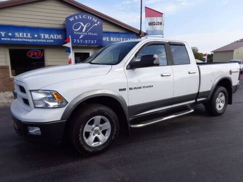 2012 RAM Ram Pickup 1500 for sale at VanderHaag Car Sales LLC in Scottville MI
