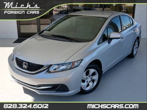 2014 Honda Civic for sale at Mich's Foreign Cars in Hickory NC