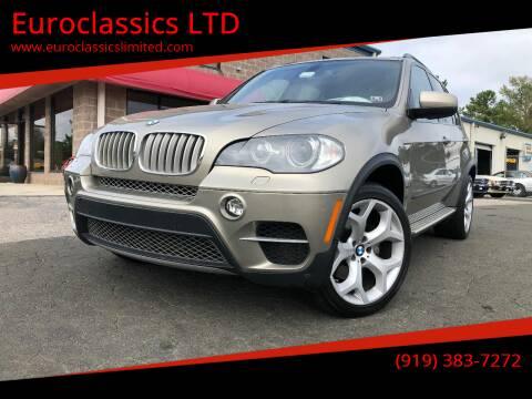 2011 BMW X5 for sale at Euroclassics LTD in Durham NC