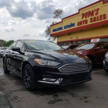 2018 Ford Fusion for sale at Popas Auto Sales in Detroit MI