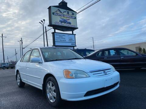 2002 Honda Civic for sale at A & D Auto Group LLC in Carlisle PA