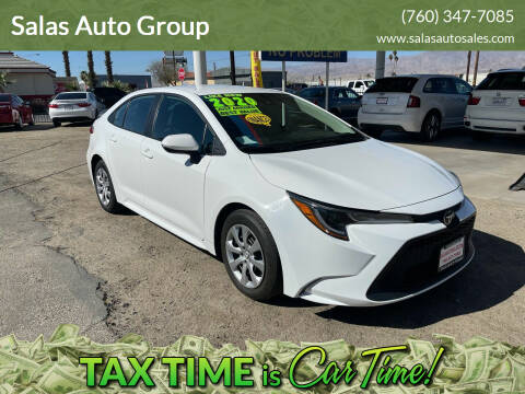 2020 Toyota Corolla for sale at Salas Auto Group in Indio CA