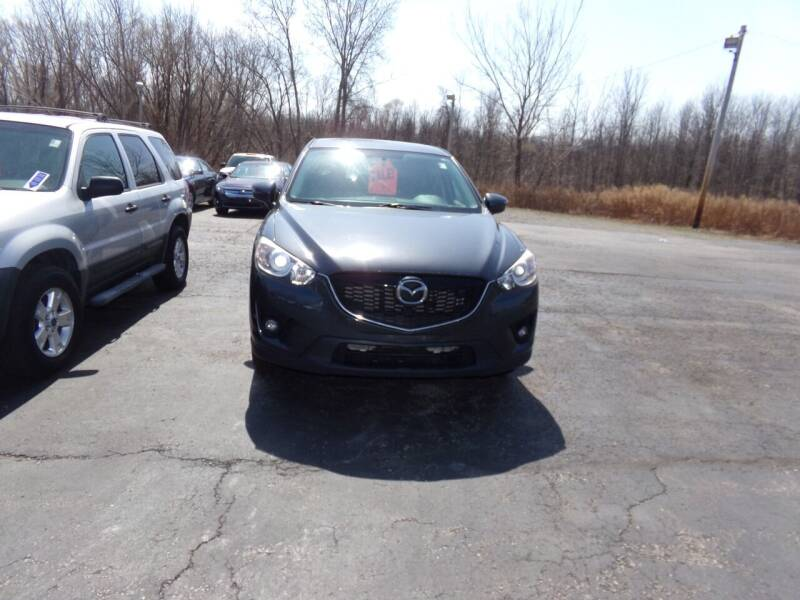 2015 Mazda CX-5 for sale at Pool Auto Sales Inc in Spencerport NY