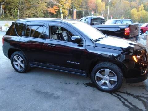 2016 Jeep Compass for sale at East Barre Auto Sales, LLC in East Barre VT