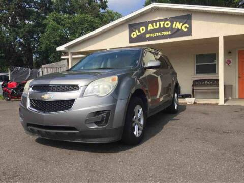 2012 Chevrolet Equinox for sale at QLD AUTO INC in Tampa FL