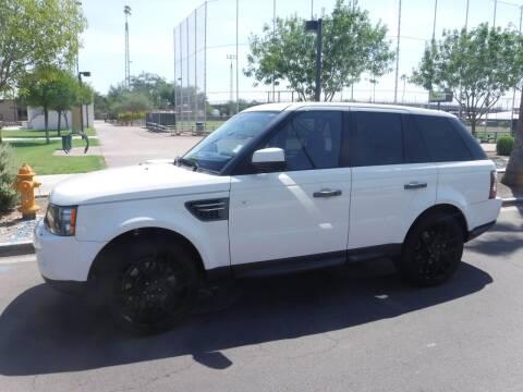 2010 Land Rover Range Rover Sport for sale at J & E Auto Sales in Phoenix AZ