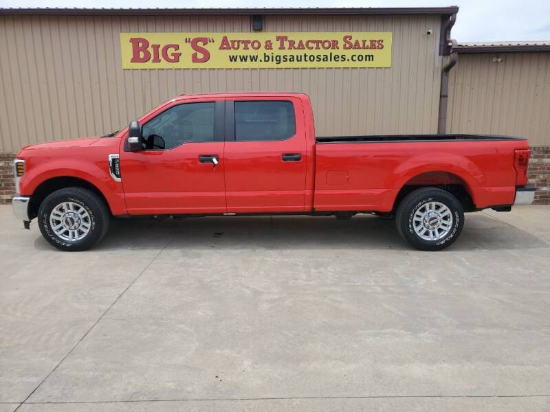 2018 Ford F-250 Super Duty for sale at BIG 'S' AUTO & TRACTOR SALES in Blanchard OK