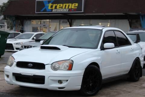 2004 Subaru Impreza for sale at Xtreme Motorwerks in Villa Park IL