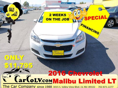 2016 Chevrolet Malibu Limited for sale at The Car Company in Las Vegas NV