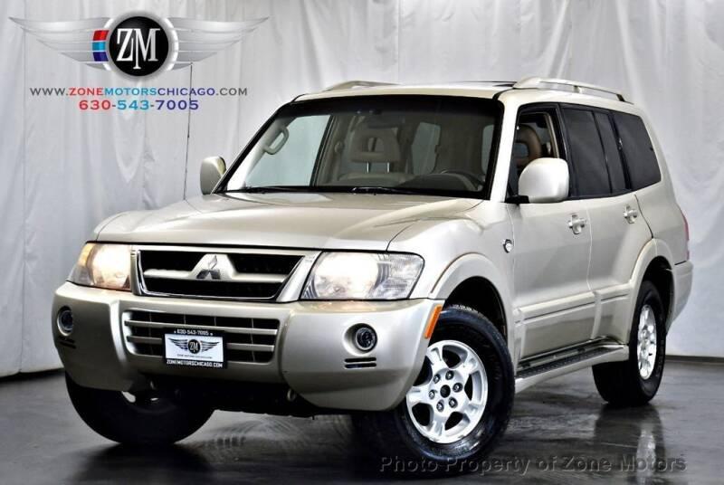2003 Mitsubishi Montero for sale at ZONE MOTORS in Addison IL