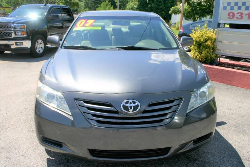 2007 Toyota Camry for sale at RIVERSIDE CUSTOM AUTOMOTIVE in Mc Minnville TN