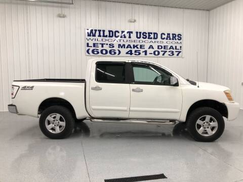 2005 Nissan Titan for sale at Wildcat Used Cars in Somerset KY