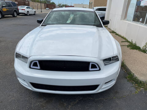 2014 Ford Mustang for sale at National Auto Sales Inc. - Hazel Park Lot in Hazel Park MI
