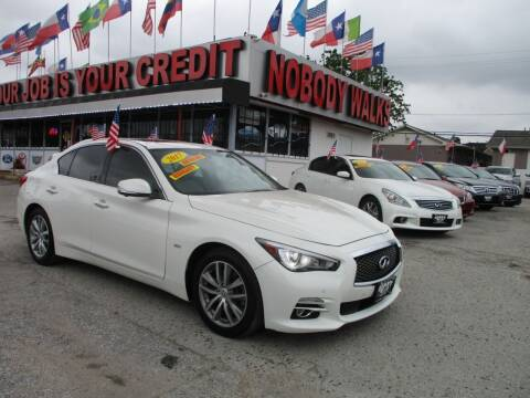 2017 Infiniti Q50 for sale at Giant Auto Mart 2 in Houston TX