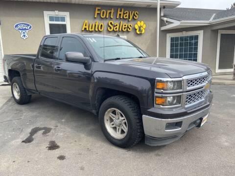 2014 Chevrolet Silverado 1500 for sale at Fort Hays Auto Sales in Hays KS