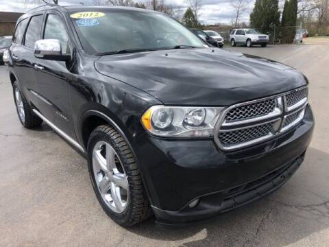 2012 Dodge Durango for sale at Newcombs Auto Sales in Auburn Hills MI
