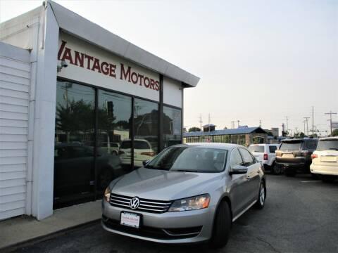 2014 Volkswagen Passat for sale at Vantage Motors LLC in Raytown MO
