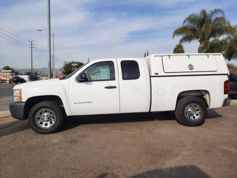 2012 Chevrolet Silverado 1500 for sale at S & S Auto Sales in La  Habra CA