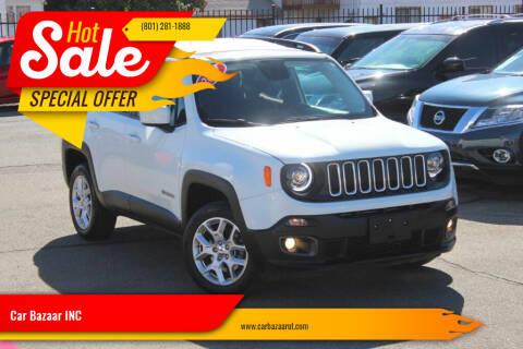 2017 Jeep Renegade for sale at Car Bazaar INC in Salt Lake City UT