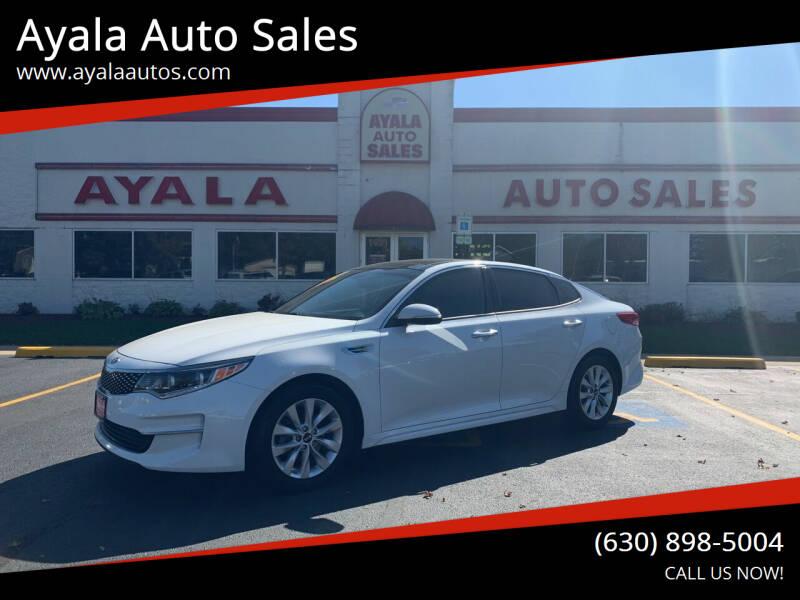 2016 Kia Optima for sale at Ayala Auto Sales in Aurora IL