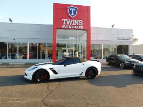 2015 Chevrolet Corvette for sale at Twins Auto Sales Inc Redford 1 in Redford MI